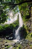 Nejvyšší vodopád v tropické džungli ostrova Mauricius