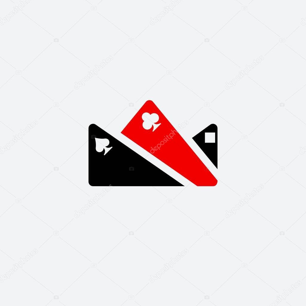 Poker King Icon Logo Premium Vector In Adobe Illustrator Ai Ai Format Encapsulated Postscript Eps Eps Format