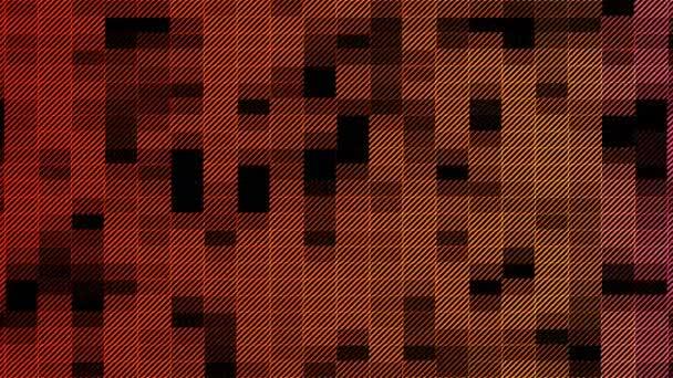 Animace pozadí z obdélníku jako geometrické tvary koryto času v prostoru.