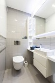 Photo Toilet room or WC. Modern interior design