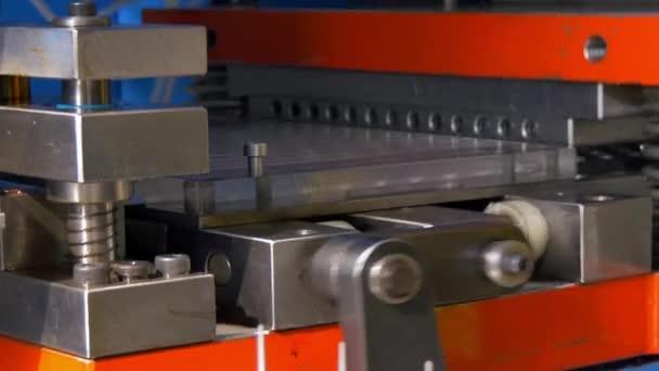 Corte Los Orificios Perforación Sellado Hojas Metal Máquina Cnc ...