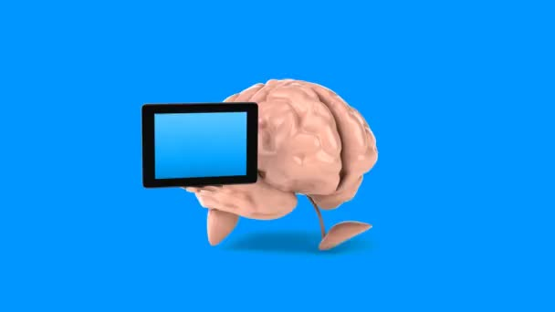 Video of Brains running background