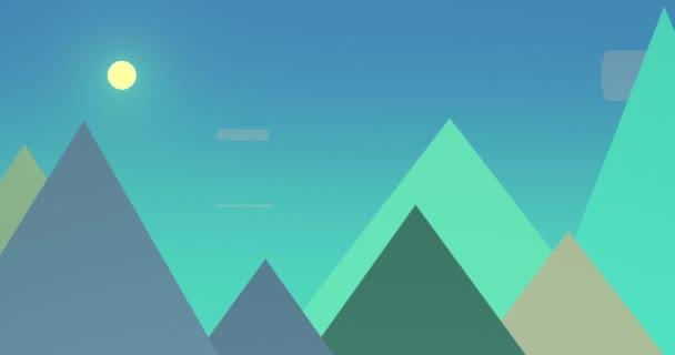 Flatland Backgrounds - Pyramids DAY