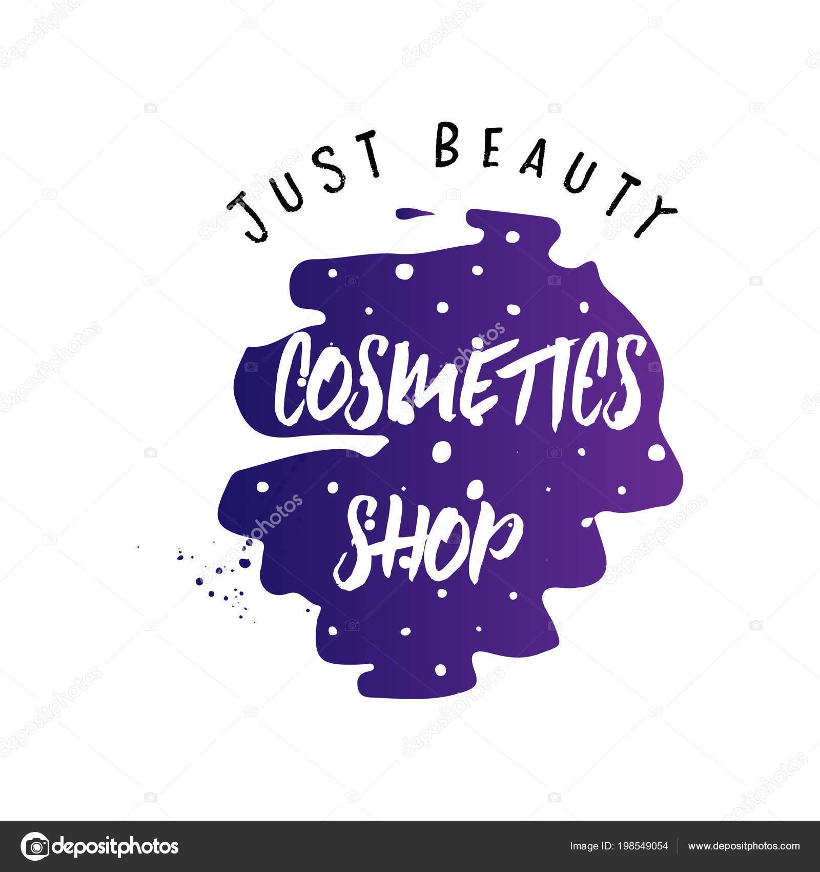 Kosmetik Logo Schriftzug Handschriftlich Make Up Studio