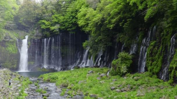 Shiraito Falls (Shiraitonotaki), Shizuoka, Japonsko