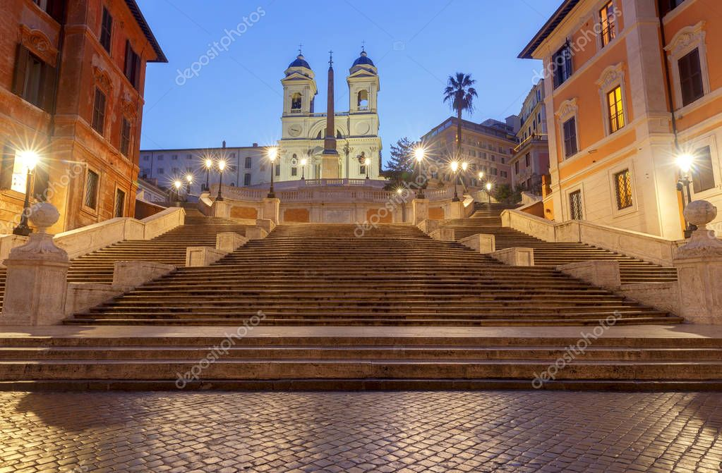 Rome. The Square of Spain.
