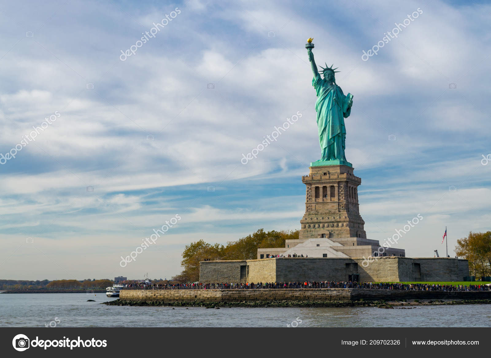Statue Liberty Dedicated October 1886 One Most Famous Icons