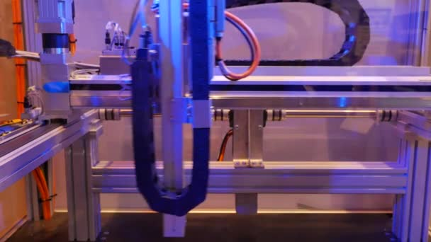 close-up footage of metal details manufacturing factory