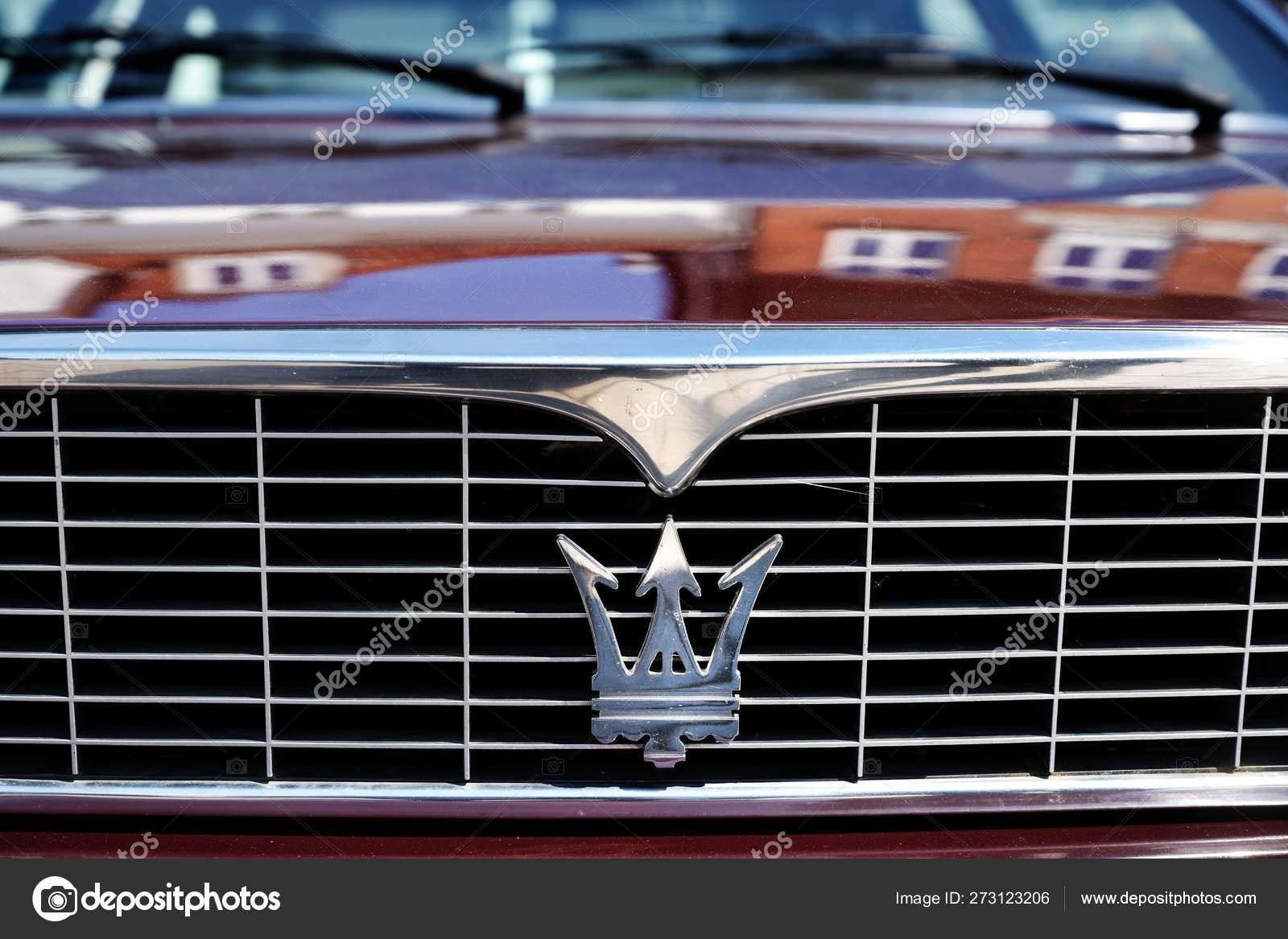 Trident Car Logo >> Ratzeburg Germany June 2 2019 Maserati Grille With Trident