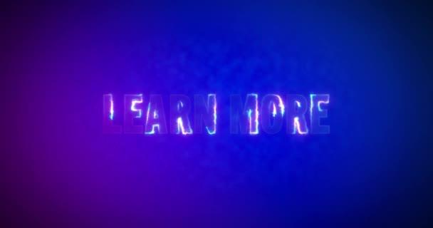 Další informace. Elektrická blesková slova. Vypalování Logotyp na růžové modré pozadí. Vysoce kvalitní 4K záběry