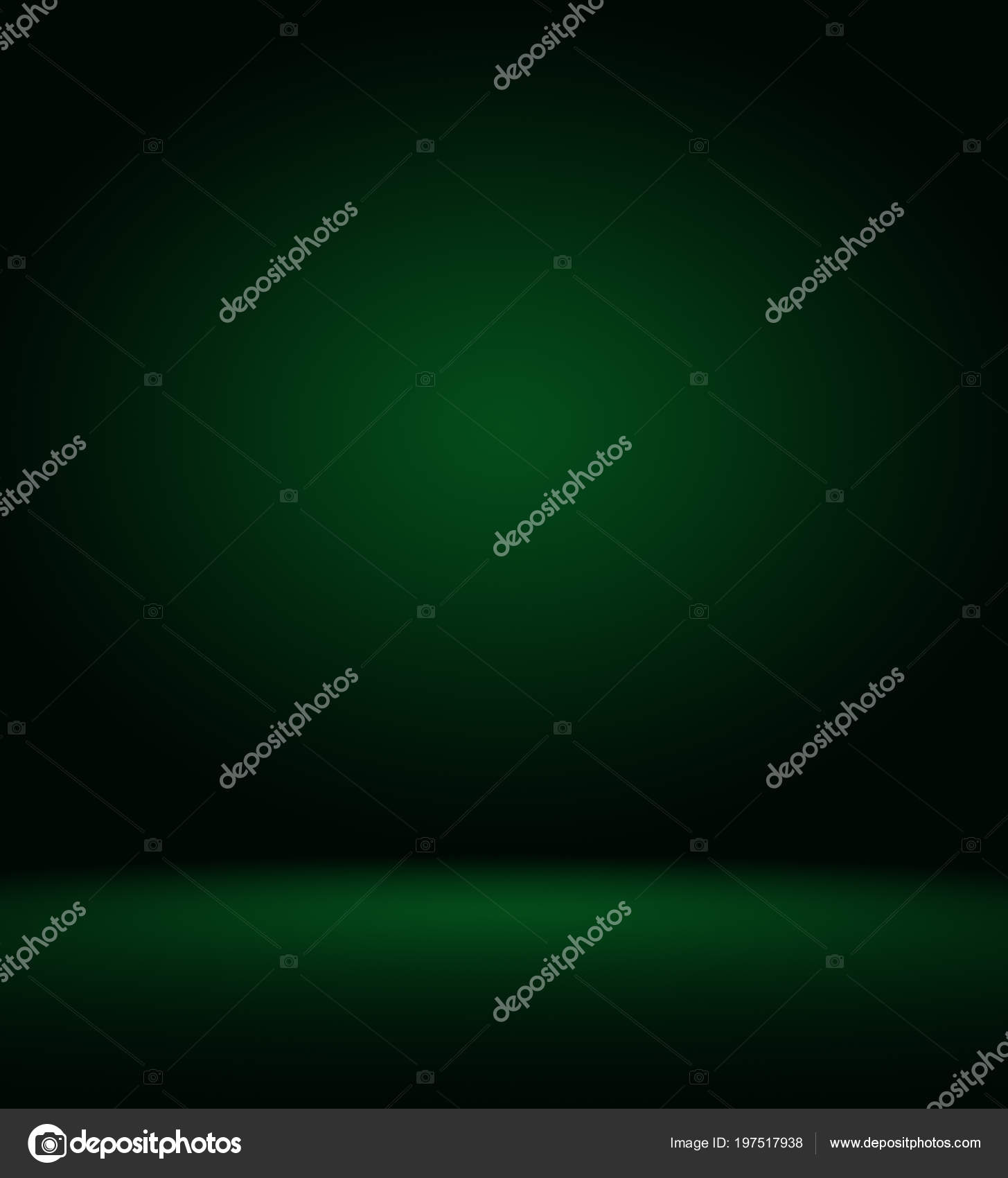 Resumen blur vacío verde degradado estudio bien uso como plantilla ...