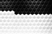 Fotografie Moderne Architektur und schwarz Stahl, architektonische Gestaltung, Hintergrund Architekturkonzept