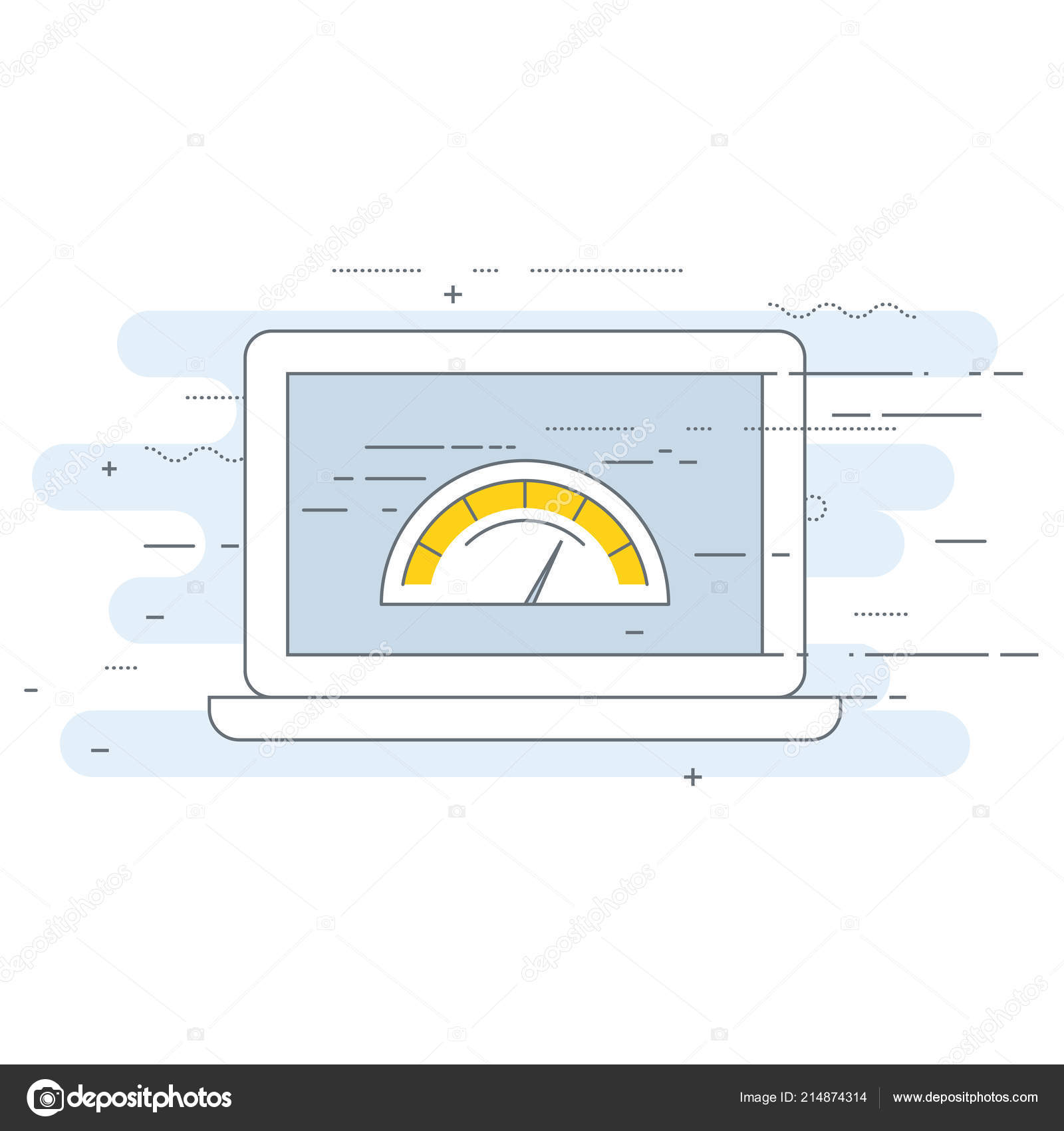 Web Page Loading Speed Test Icon Site Performance