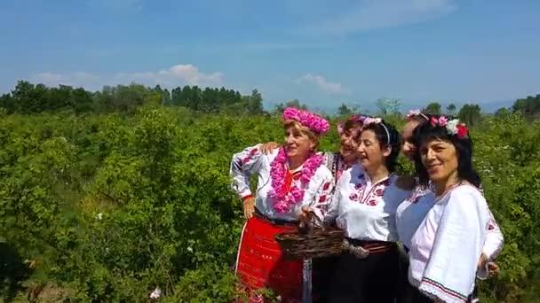 Každoroční festival rose výdej v Bulharsku
