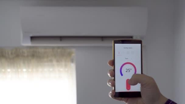 Klimasteuerung über Smartphone-App