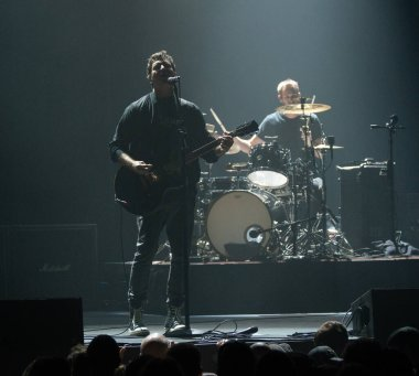 Detroit, Michigan, USA - 11.04.2018: Third Eye Blind performing live at the Sound Board Theater.