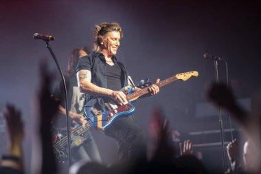 Orlando, Florida, USA- 8.30.2017: Goo Goo Dolls performing at the Hard Rock Live Orlando.
