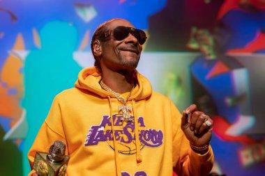 Detroit, Michigan / USA - 01-26-2020: Snoop Dogg performing live at the Fillmore of Detroit