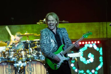 Detroit, Michigan / USA - 08-08-2019: Styx performing live at the Motor City Casino
