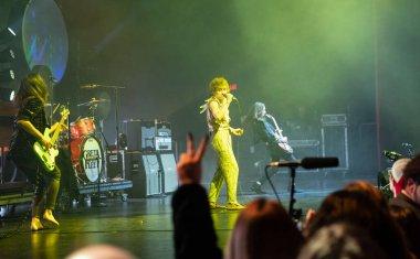 Detroit, Michigan, USA - 12.29.2018: Greta Van Fleet performing live at the Fox Theater