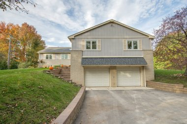 updated home has been staged for sale