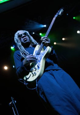 guitarist player man, George Clinton, Motor City Sound Board, concert show, party event