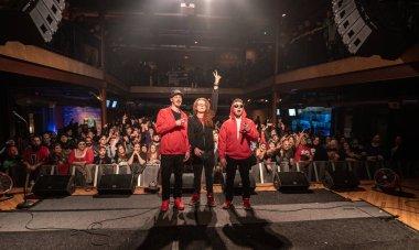 Pontiac, Michigan, USA: 12.07.2018, REDD performing at Twiztmas in The Crofoot concert venue.
