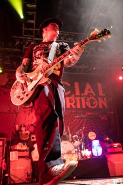 Orlando, Florida, USA: 8.25.2017 Social Distortion performing live concert in House of Blues music concert hall.