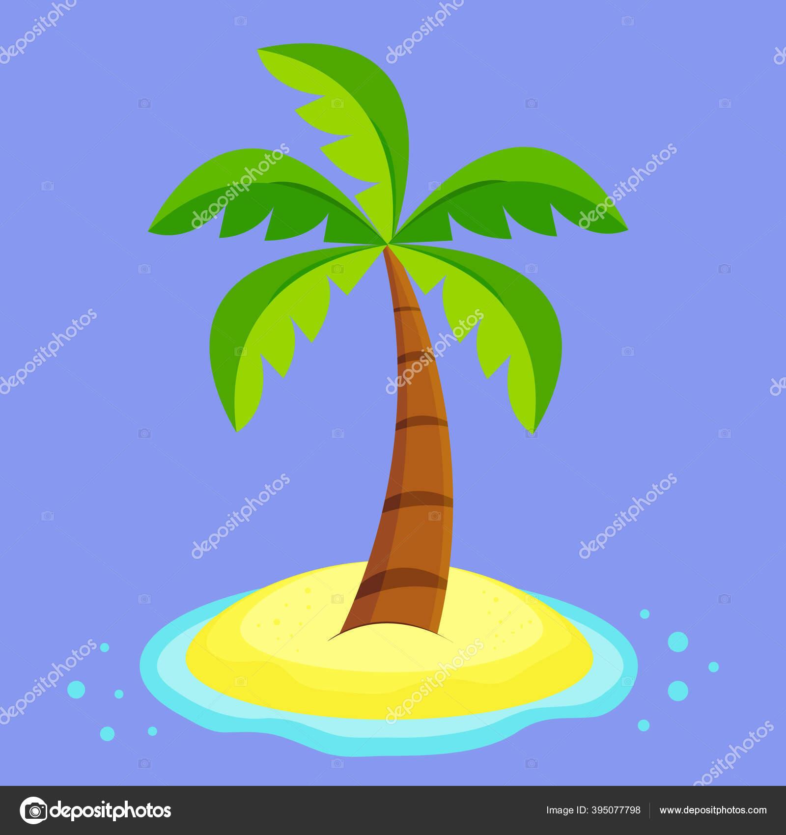 Ikon Tanaman Grafis Klip Gurun Laut Biru Kartun Seni Tanah Stok Vektor C Anyatoporkova 395077798
