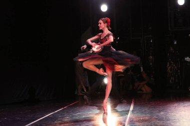 Prima ballerina of the Mariinsky theatre Ulyana Lopatkina, pas de de Deux from Esmeralda at the concert