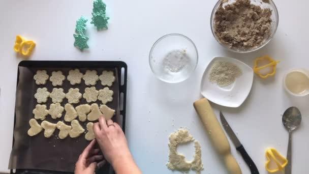 Příprava křehké sušenky