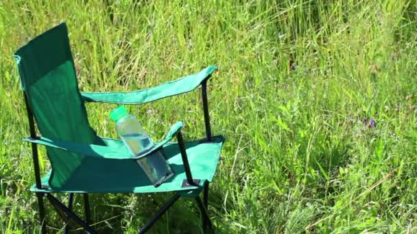 Swell A Picnic Chair Stands On A Light Flooded Meadow Herbs And Flowers Sway From The Summer Wind Creativecarmelina Interior Chair Design Creativecarmelinacom