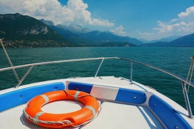 boat trip on Lake Annecy