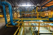 Fotografie Výrobní továrna, těžké průmyslové stroje