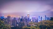Photo Panorama of central Hong Kong