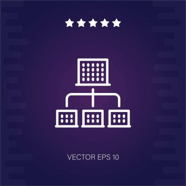 officebuildings vector icon modern illustration