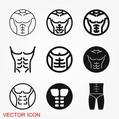 Weight loss icon vector sign symbol for design