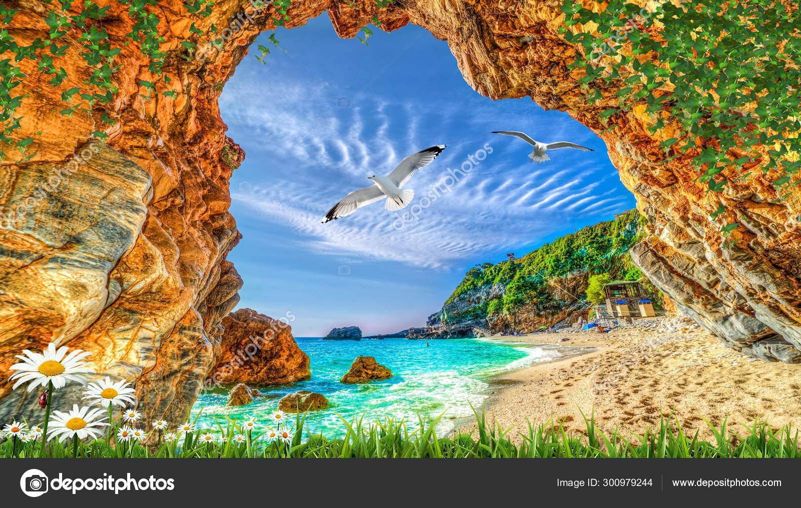 Wallpaper Alami Menakjubkan Dan Latar Belakang — Stok Foto © Zevahir  #300979244