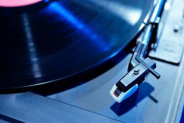 Turntable Vinyl Records Equipment for DJ.