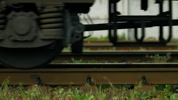zavěšení vozových kol vlaku