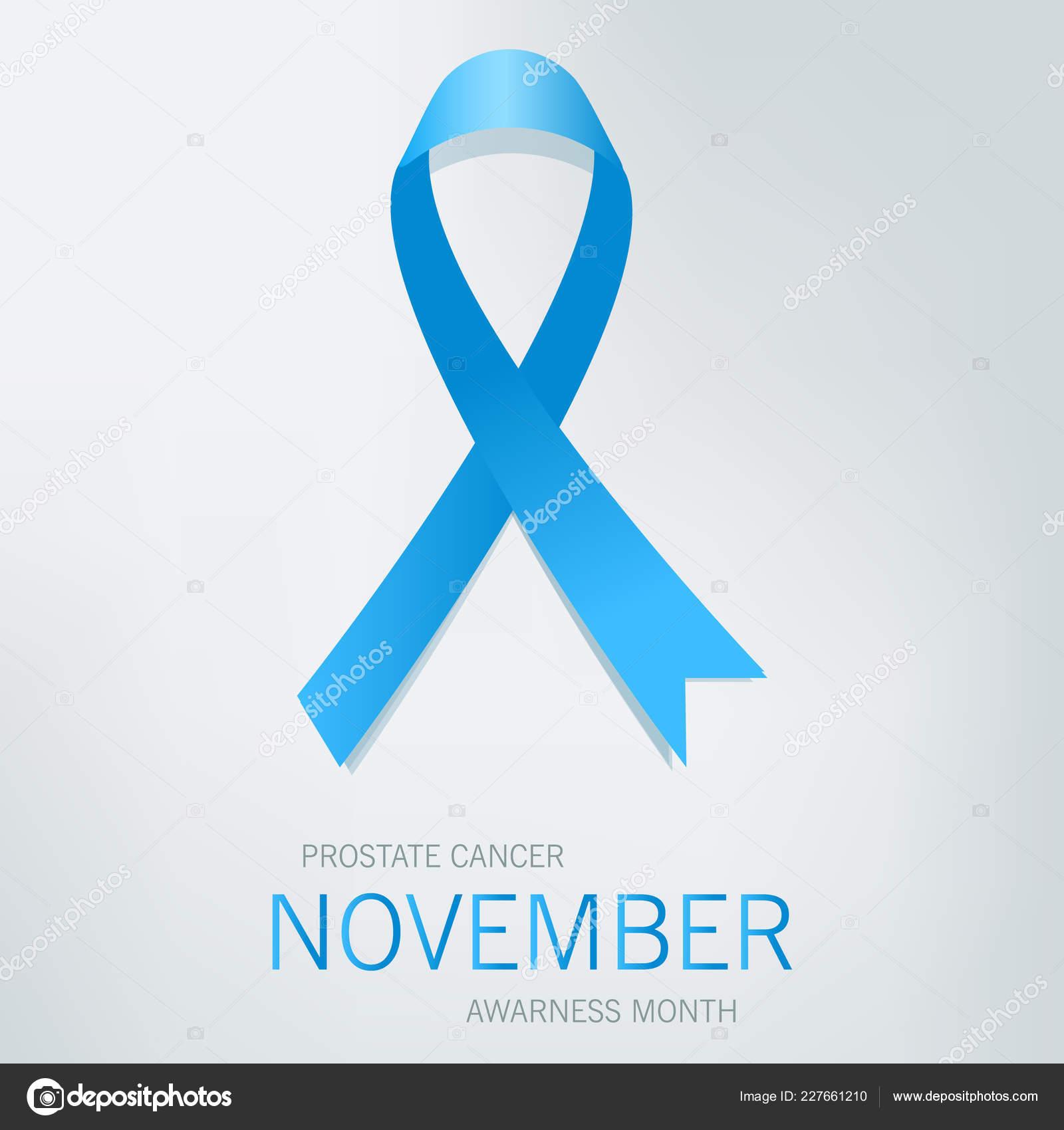 38b4b14050b Awareness Blue Ribbon World Prostate Cancer Day Concept Vector ...