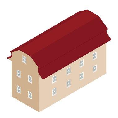 House isometric icon