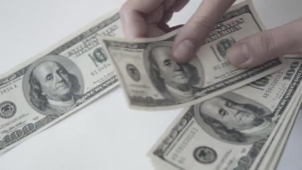 Americký dolar. Peníze.