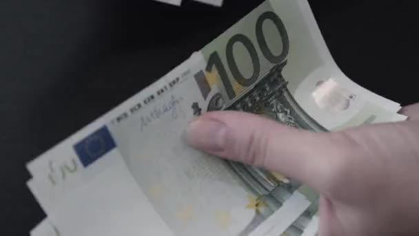 Eura. Peníze. Bill