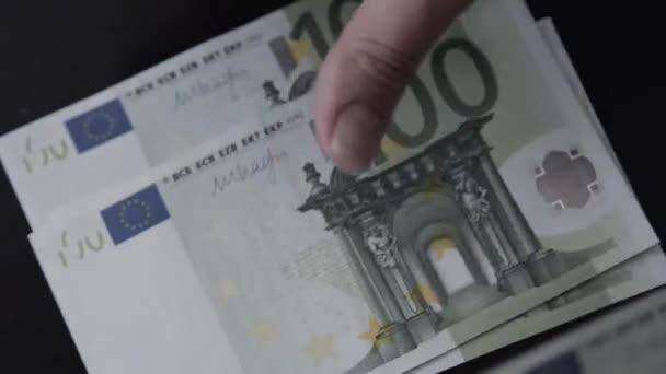 Euro. Pénzt. Bill.
