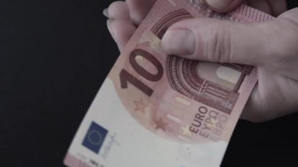 Euro. Money. Bill.
