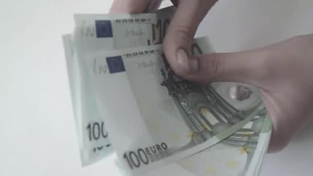 Eura. Peníze. Bill.