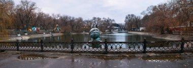 Lazar Globa Park, Sculpture Little Prince, Dnieper city, country Ukraine
