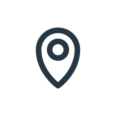 gps icon vector from basic ui concept. Thin line illustration of gps editable stroke. gps linear sign for use on web and mobile apps, logo, print media.