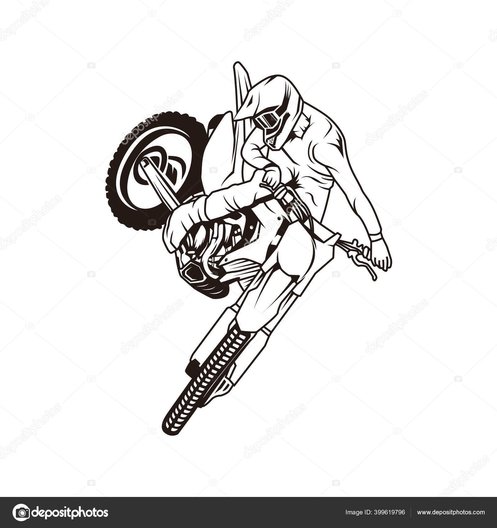ᐈ Freestyle Motocross Stock Vectors Royalty Free Motocross Freestyle Illustrations Download On Depositphotos